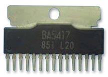 BA5417 nf-koncový stupeň  18V 2x4,5W   obvod v cenové akci