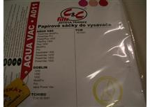 Papírové sáčky do vysavače AQUA VAC A011