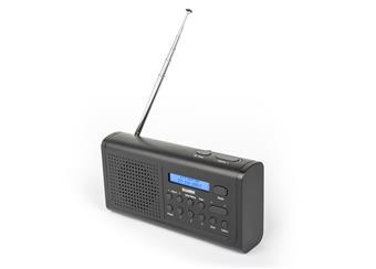 Rádio přijímač SWEEX Přenosné DAB+ Rádio DAB+ / FM Černá