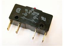Mikrospínač černý 16A/250V