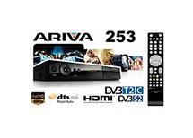 Ariva 253 HD -DVB-T2   2xCI slot , HDMI,scart,Fast Scan Skylink,  v cen. akci