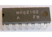 MHB2102 MNOS RAM 1024bit, DIP16