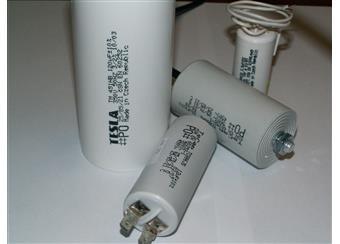 1 - 100uF TC886 JS HS rozběhové kondenzátory české výroby, v celé škále hodnot, kvalitní výroba bez reklamací