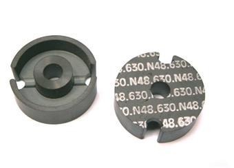 Ferit. hrníčkové jádro N48 AL630 pr.25,4mm v=7,9mm