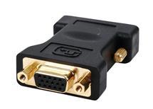 Redukce DVI 24+5p zástrčka - VGA zásuvka