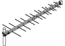! antena UHF logaritmicko periodická -nejprodávanější