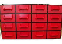zásobník organizér- počet zásuvných krabiček dle požadavku ks á 24,-Kč