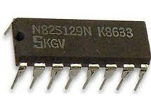 N82S129N - paměť PROM 256x4bit , DIP16