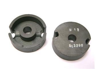 Ferit. hrníčkové jádro H12 AL3200 pr.25,4mm v=7,9mm