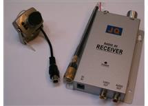Bezdrátová mini kamera JQ-208-4 receiver v Akci doprodej úspěšně pracuje jako chůvička