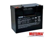 Baterie olověná 12V 55Ah Motoma pro elektromotory (bezúdržbový akumulátor)