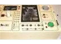 zkušební panel ZK-2 zkouš: zářivek,žárov E14, E27,E10,popjistek,  stab DC 12V 0,4A, Nové,nepoužité