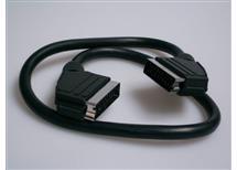 SCART kabel  0,75m, 21pin