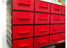 .zásobník organizér- počet zásuvných krabiček dle požadavku ks á 24,-Kč