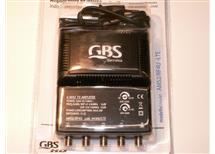ant  zesil AMS4 DVB-t- s filtrem LTE od 791Mhz, 1x vstup,4x výstup,napájení 230V AC, kvalita ověřena ,Akční cena!