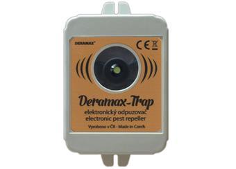 Odpuzovač divoké zvěře- ultrazvukový bateriový DERAMAX-TRAP