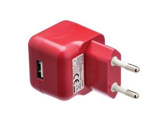 Síťová USB nabíječka 5V 2,1A