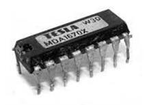 MDA1670X obvod vertikálního rozkladu Tesla orig.