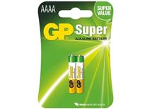Baterie AAAA alkalická GP (25A, LR61) 1,5V - cena za 1ks baterie
