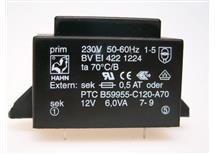HAHN BV EI 422 1224 -do tištěných spojů 230/1x12V 6VA