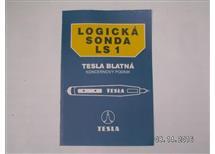 Logická sonda LS 1 Tesla Blatná, stavebnice, obsahuje osazenou tiš.desku s MA1458, obal, kryt a přísluš.