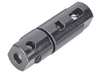 Držák pojistky 5x20mm, průchozí, na kabel