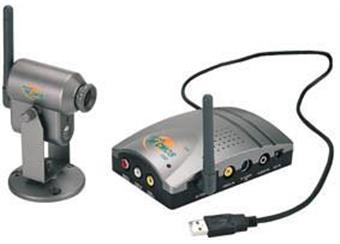 2.4GHz bezdrátový barev. kamerový USB systém
