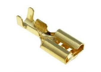 Konektor faston 6,3 zás. neizol. do pr. 1-2.5mm, cena za bal. 100ks 95Kč, cena za 200ks 160Kč