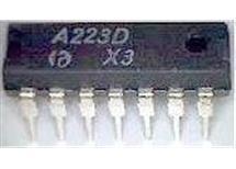 A223D mf zesilovač+demodulátor, DIL14