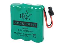 Baterie accu 3,6V 1000mAh NiMH