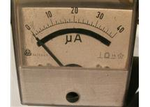 měř MP80 0-40uA DC  Metra