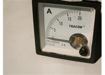 měřidlo TRACON 0-20A DCAM72 DC 72x72mm