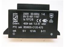 HAHN BV EI 481 1167 -do tištěných spojů 230/1x9V 10VA
