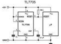 TL7705ACPV  LIN-IC napětový sledovač 4,55V/ supervisor, DIP8