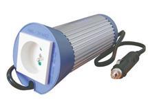 měnič 12V/230V  vstup 10-15V DC  výstup 230V AC/50hz  100/150w