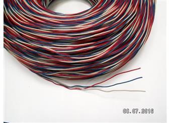 Zvonkový drát 3x0,8