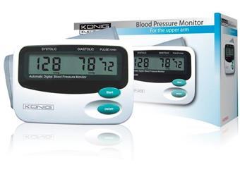 měřič krevního tlaku a pulzu König , LCD displej, pažnÍ , kvalitní produkt