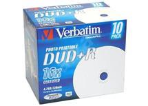 DVD+R Verbatim 4,7GB, Balení 10 ks cena 105 kč