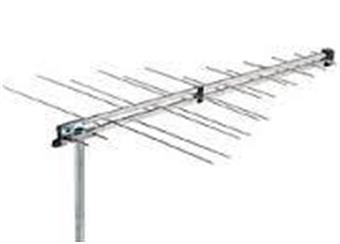 Anténa VHF - UHF  LP16F logarickoper, i  pro DAB /použtím na výstupu rozboč VHF-UHF.