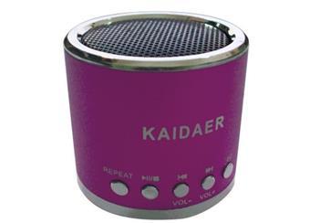 Kaidaer MN01 MP3 přehravač + VKV radio  rozměry 50x45mm nejmenší z Kaidaerů
