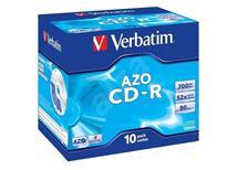 CD-R Verbatim AZO 700MB 52x, Balení 10 ks cena 84 kč