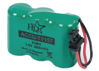 Dobíjecí NiMh baterie 3,6 V 600 mAh