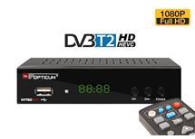 Opticum NYTRO box DVB-T2 H.265, příjemné Menu -nový Čip naskladněno