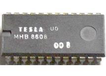 MHB8608 elektricky program. NMOS paměť 1024x8 bitů