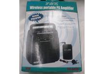 bezdrátová souprava mikrofon-repro YH 6020  vhodné pro sportovní cvičitele, školy a pod.