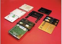 Čtečka pro čipové karty C702-10M00B 2064 Amphenol satelitní přístroje aj. 27,-Kč