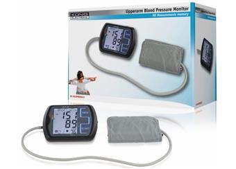 König měřič krevního tlaku a pulz, s pamětí, podsvětlený displej, pažnÍ, spolehlivý přesný