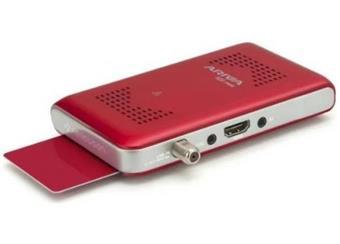 Ariva 103 mini. perfektní menu, fast scan,progr naladí sám, , možná installace za TV ,v akci přij nastaven