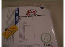Papírové sáčky do vysavačů AEG A015