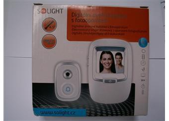 Digitální dveřní kukátko s fotoaparátem